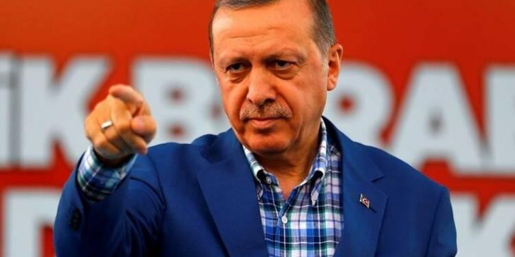 Erdogan justifie l'incursion militaire dans le nord de la Syrie