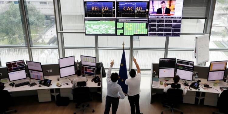 La Bourse de Paris achève dans le vert une séance sous le signe de la BCE (+0,44%)