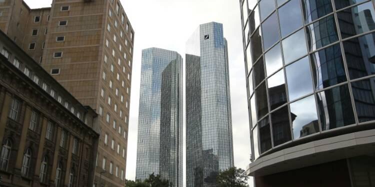 Deutsche Bank: des fonds spéculatifs commencent à réduire leur exposition