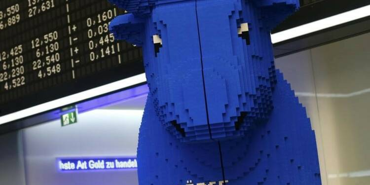 Les marchés européens finissent légèrement en hausse
