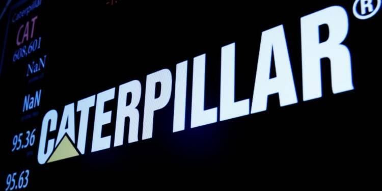 Caterpillar: La prévision 2017 déçoit, le titre baisse