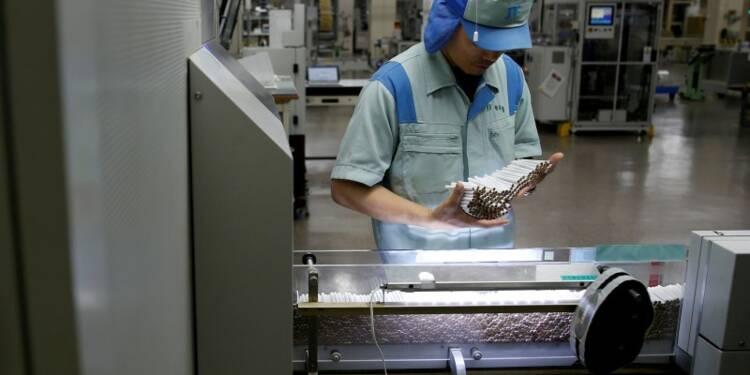 La production industrielle japonaise a stagné en juillet