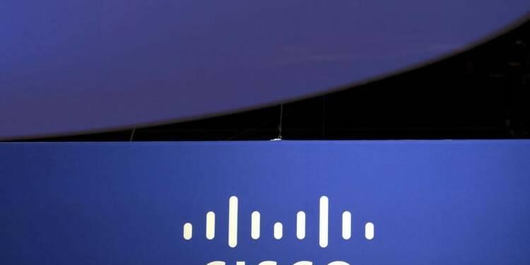 Résultats meilleurs que prévu pour Cisco mais le titre recule