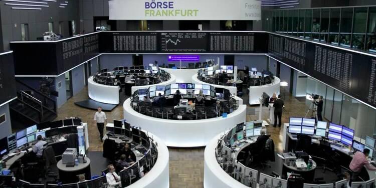 Les Bourses européennes s'orientent à la hausse en ouverture