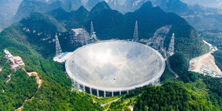 Ce télescope chinois veut capter les messages extraterrestres