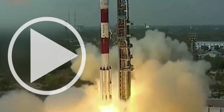 L'Inde lance 104 satellites d'un coup !