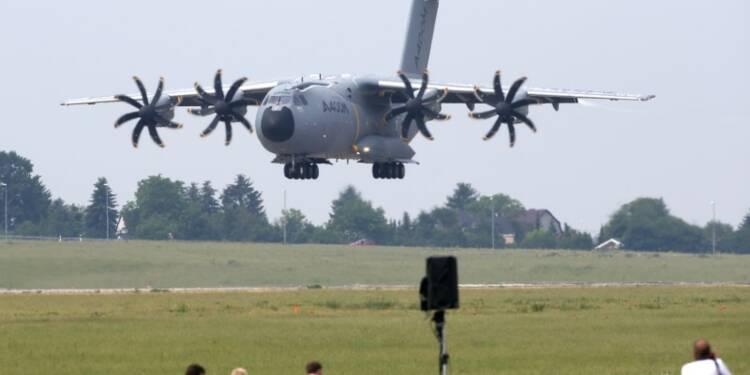 """Airbus """"choqué"""" après le problème de moteur d'un A400M"""