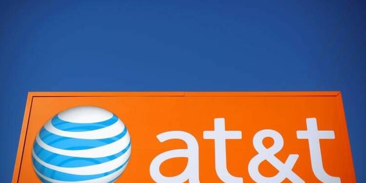 Le chiffre d'affaires d'AT&T au 4e trimestre inférieur aux attentes