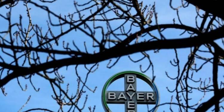 Résultats meilleurs que prévu pour Bayer mais le titre baisse