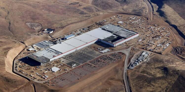 Tesla a mis en route la plus grande usine de batterie du monde