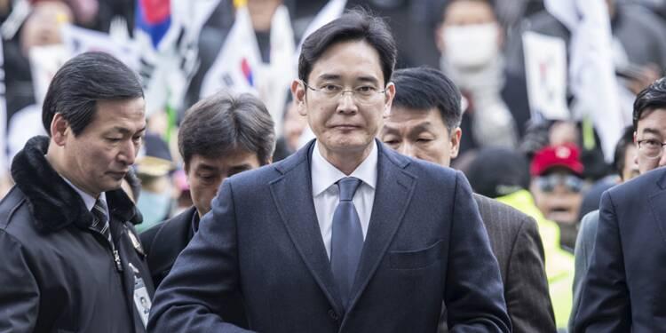 Lee Jae-yong, l'héritier de l'empire Samsung arrêté