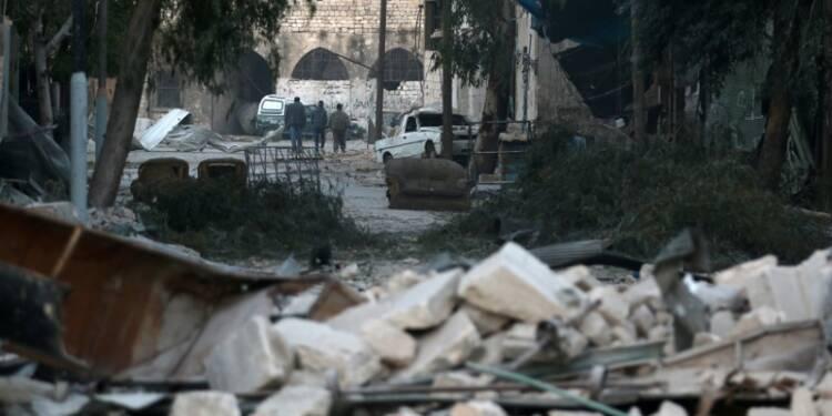 Plus de 140 civils tués à Alep-Est en une semaine