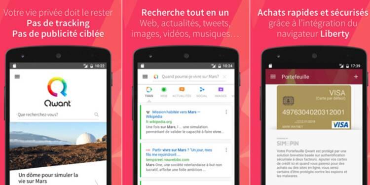 Découvrez l'appli révolutionnaire de Qwant, le Google français qui sécurise vos données