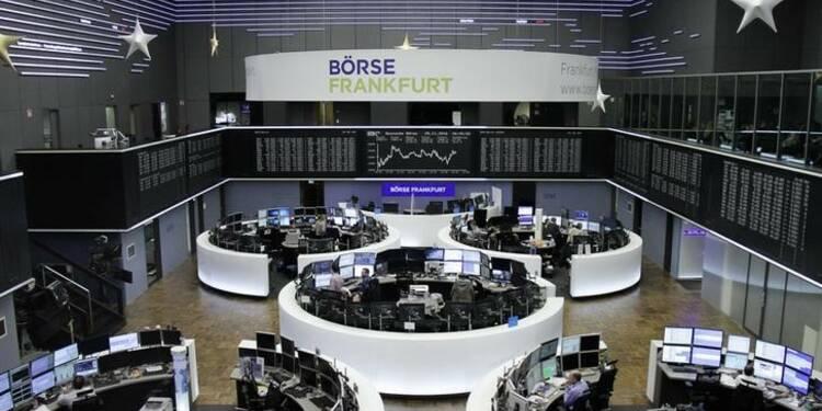 Les Bourses européennes terminent en hausse modérée, à l'exception de Londres