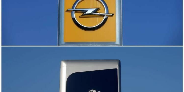 GM et PSA discutent d'Opel, suscitent la grogne en Allemagne