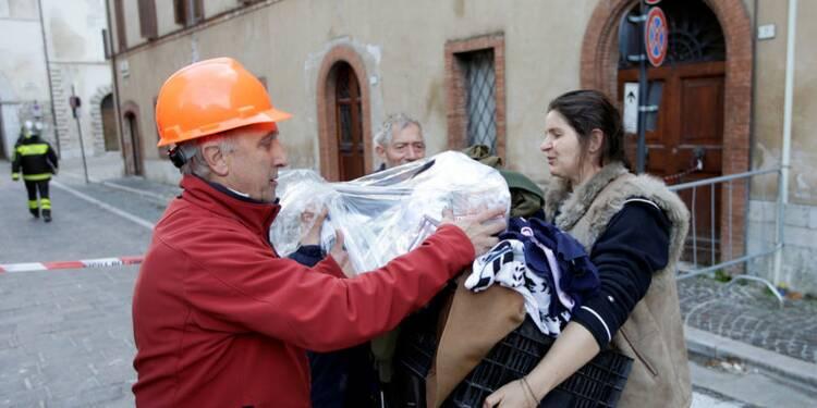 Les séismes en Italie ont causé de gros dégâts matériels