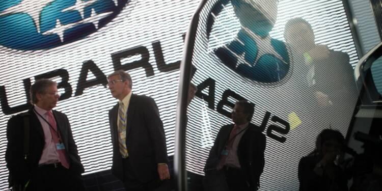 Fuji Heavy rappelle 935.000 Subaru dans le monde entier