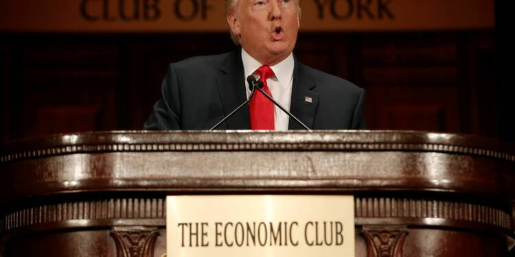 Trump vise 4% de croissance, veut créer 25 millions d'emplois