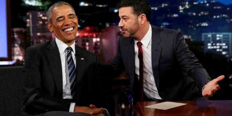 "Obama se moque des ""méchants tweets"" de Donald Trump"