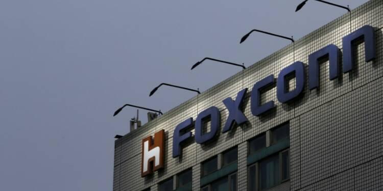 Foxconn, le partenaire taiwanais d'Apple, pourrait investir 7 milliards de dollars aux Etats-Unis