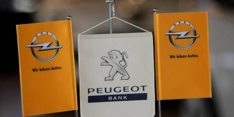 PSA a trouvé un accord avec GM sur le rachat d'Opel-sces