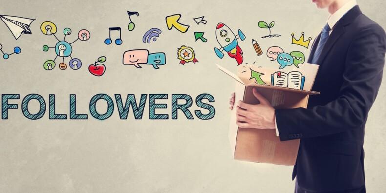 Facebook, Twitter, Instagram... les réseaux sociaux, c'est bon pour le boulot !