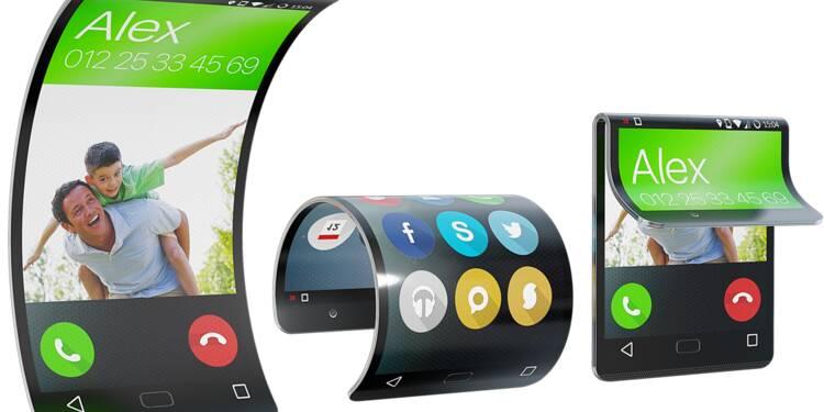 L'écran souple du smartphone du futur s'adaptera à tous les usages