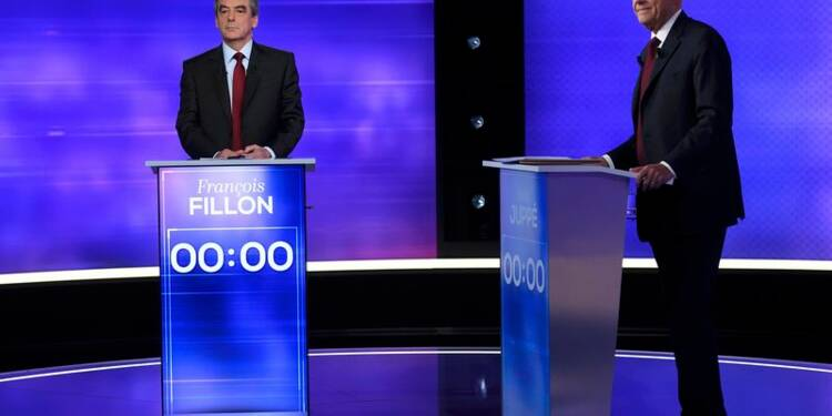 Fillon jugé plus convaincant que Juppé lors du dernier débat