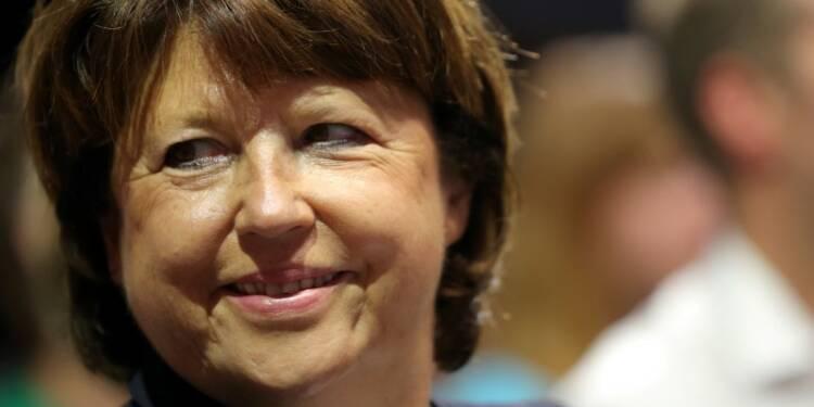 Martine Aubry appelle au rassemblement de la gauche