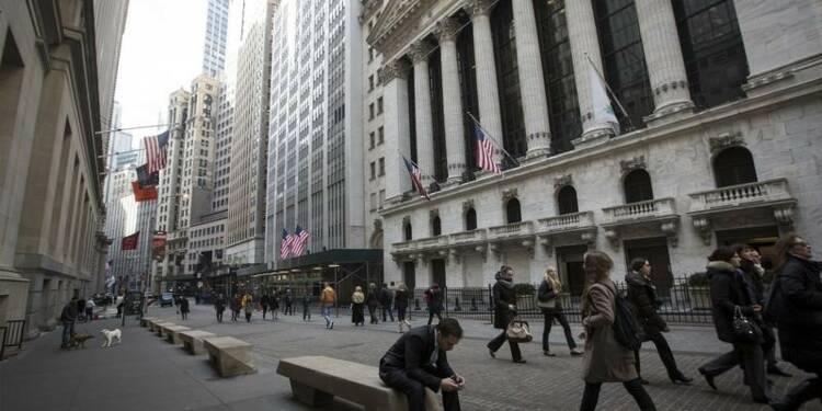 Wall Street interrompt de peu sa série baissière