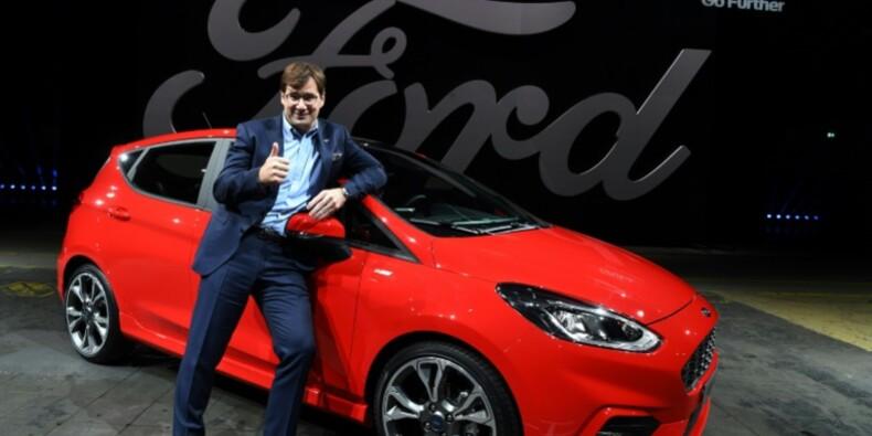 Ford dévoile la nouvelle génération de sa Fiesta construite en Europe