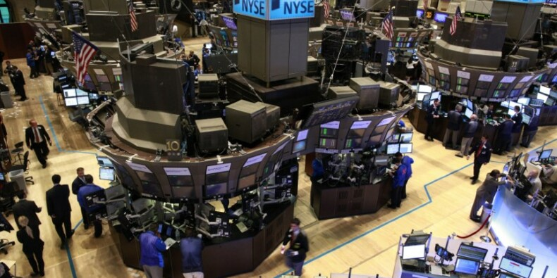 Wall Street finit en baisse avant le discours de Trump