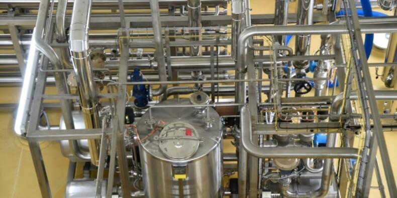 Bretagne: inauguration d'une usine chinoise de poudre de lait