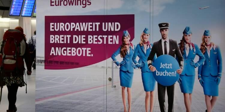 Grève chez Eurowings et Germanwings: 400 vols annulés