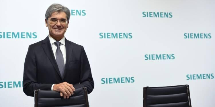 """Siemens poursuit sa mutation malgré les """"vents contraires"""""""