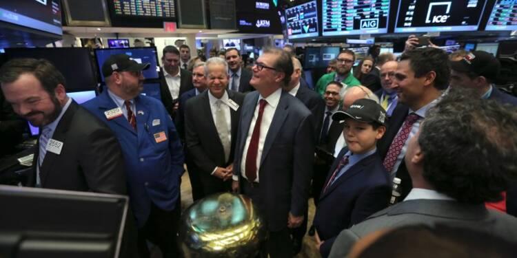 Wall Street salue l'arrivée de Trump par une hausse réduite