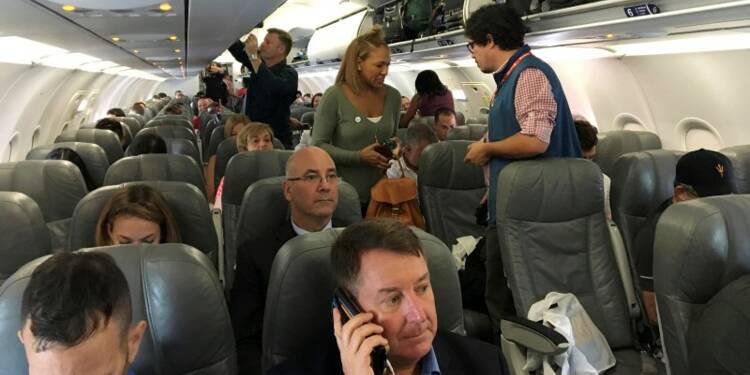 Premier vol commercial régulier entre les Etats-Unis et Cuba