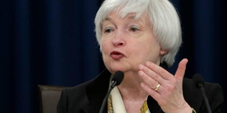 La présidente de la Fed Janet Yellen promet toujours une hausse progressive des taux