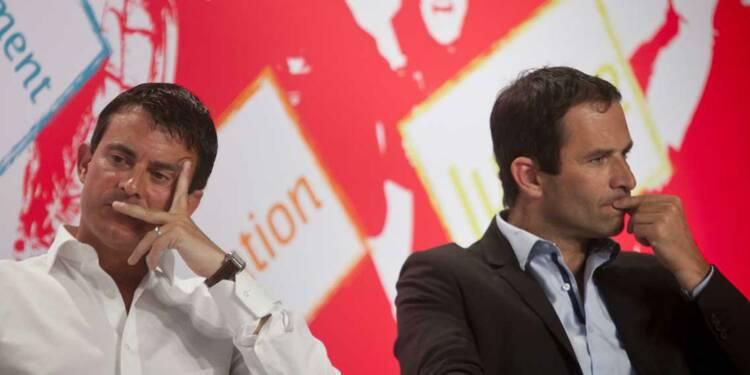 Programme économique : tout oppose Benoît Hamon à Manuel Valls