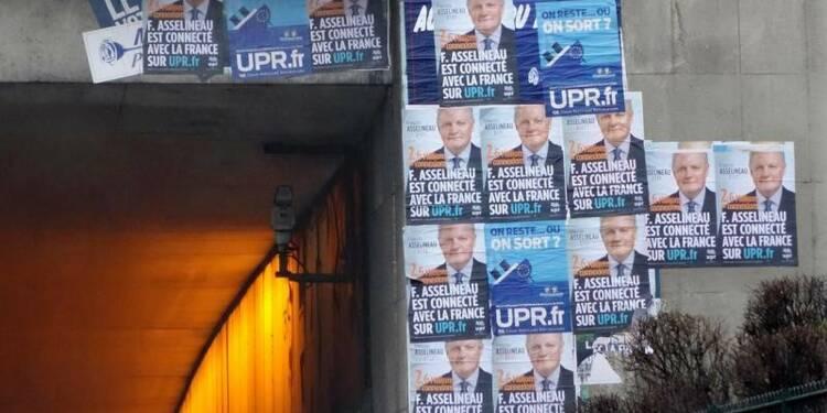 Le Pen et Asselineau franchissent le cap des 500 parrainages