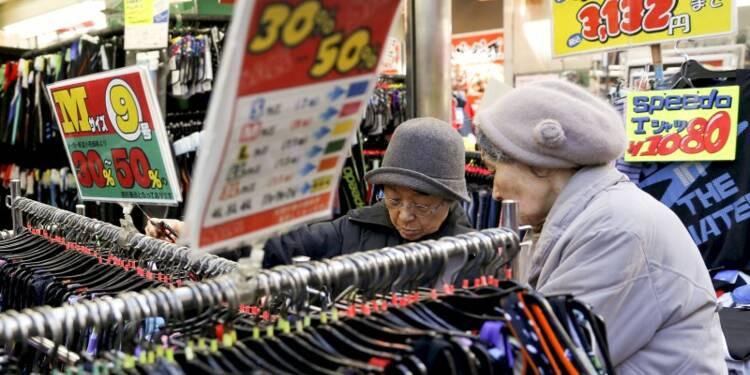 Plus forte baisse des prix à la consommation en 3 ans au Japon