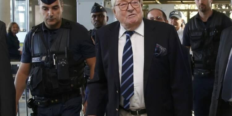 Condamnation de J-M Le Pen validée pour des propos sur les nazis