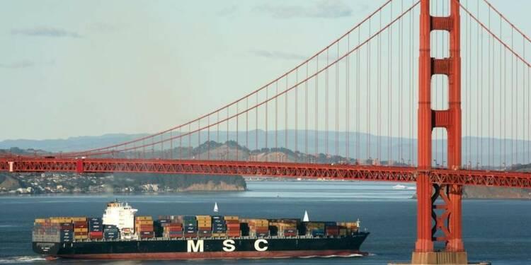 Hausse du déficit commercial des USA à un pic de près de 5 ans