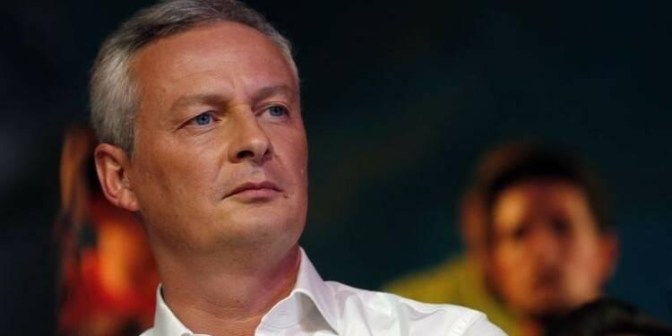 """Bruno Le Maire ne veut pas d'un """"pape de transition"""""""