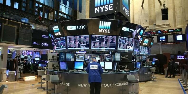 Dixième clôture record pour le Dow Jones à Wall Street