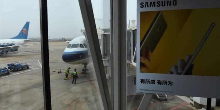Les Etats-Unis interdisent les Galaxy Note 7 de Samsung dans tous les avions
