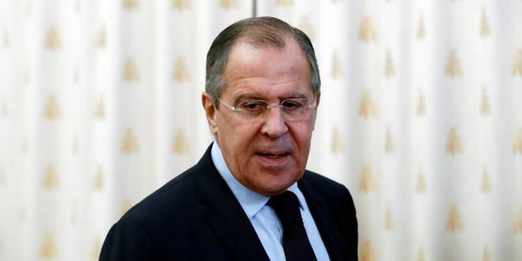 """Lavrov veut un """"plan Marshall"""" pour la Syrie"""