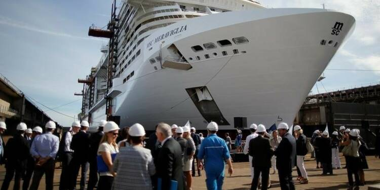 Deux candidats à la reprise des chantiers navals STX