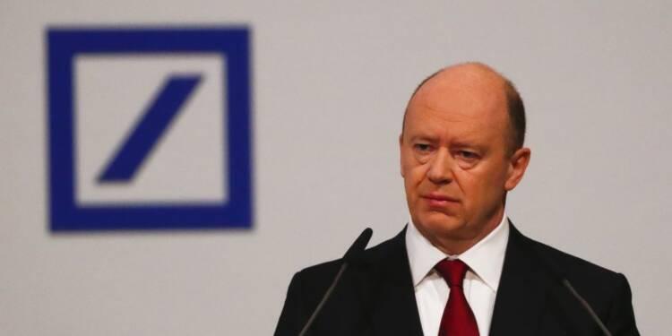 Cryan s'efforce de calmer la tempête autour de Deutsche Bank
