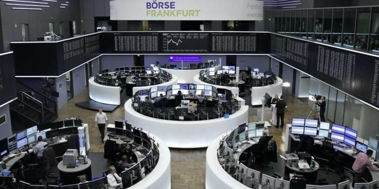 Les marchés européens finissent en hausse